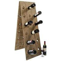 Amazon.com - Riddling Rack Wooden Wine Holder