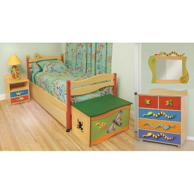 Image of Room Magic Little Lizard Bedroom Set Kids Bed (RM139-LL)