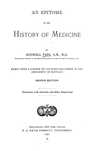 An Epitome of the History of Medicine: