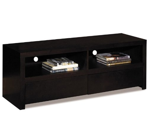 Image of Multi-Media Console Table TV Stand in Espresso Finish (MST4060)