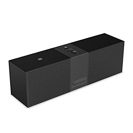 Give you the best enjoy of the sound quality. Feel like the band is in the room with the TaoTronics TT-SK02 Portable Bluetooth Speaker. By using two high performance 3W acoustic drivers, feel the bass and the treble with a stereo that really plays th...