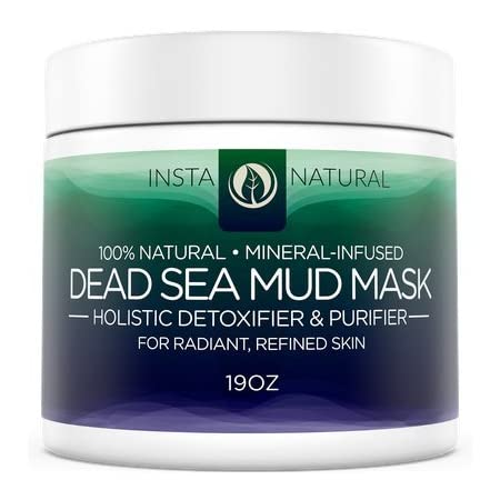 InstaNatural's Dead Sea Mud Mask is an all-natural detoxifier and purifier that comes from the renowned and sacred Dead Sea. More than a million visitors each year flock to this extraordinary body of water in the Mediterranean, which contains many mi...