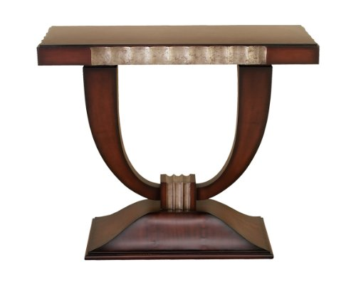 Image of Contemporary Wood Console Table (DEC48336)