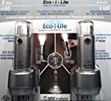 Eco i Lite Power failure light, Handheld light, Nightlight (2 Pack Silver)