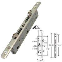 Sliding Door Lock: Sliding Glass Door Mortise Lock