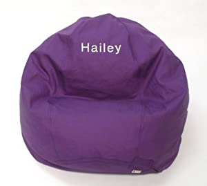 Amazoncom Bean Bag Chair Kid Size Personalized