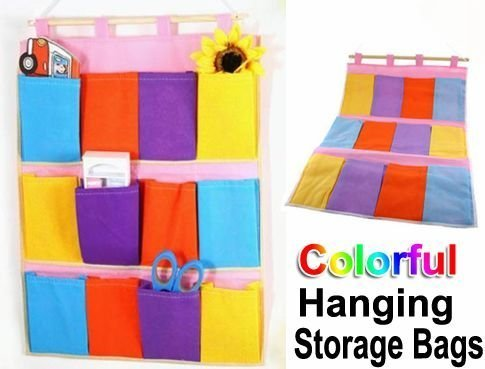 Amazon Colorful Hanging Storage Bags Only 466 Shipped