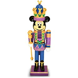 Disney Parks Mickey Mouse Purple King Nutcracker Christmas Holiday NEW