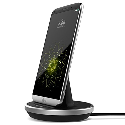 LG-G5-Desktop-Charging-Dock-Case-compatible-Type-C-Charger-Encased-Lifetime-Warranty-SilverBlack