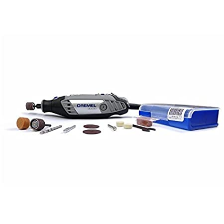 Bosch-Dremel Corded 3000 N/10 with 75 Free Accessories (Grey)