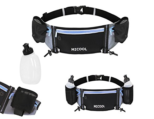 Micool 23 Inch To 42 Inch Running Belt With 2 Hidden Water