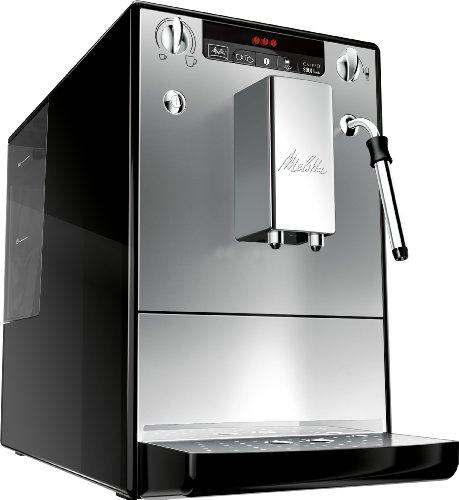Melitta E 953-102 Kaffeevollautomat Caffeo Solo & Milk mit Milchschaumdüse, silber