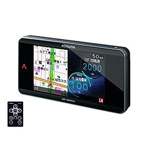 セルスター(CELLSTAR) ASSURA 無線LAN搭載 3.7インチWVGA液晶 GPSレーダー探知機 日本生産モデルAR-383GA