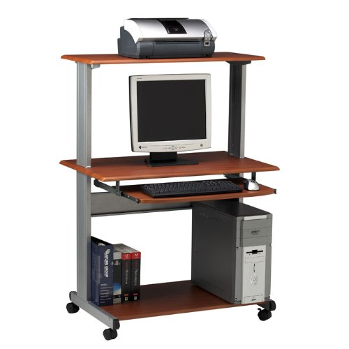 Picture of Comfortable Multimedia Mobile Workstation, Charcoal Gray (TIF8350MRANT) Category: Computer Workstations (B001HA1G9Q) (Computer Workstations)