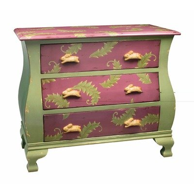 Image of Sterling Industries 52-5860 Rabbit Chest Kids Dresser (52-5860)