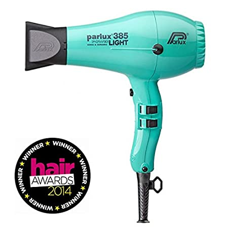 Parlux 385 PowerLight is ahead of the hair drying industry, with a variety of technological achievements that make styling easier. K-Lamination engine increases the power of the 385, while a reduction in components makes a lightweight dryer. Ionic an...