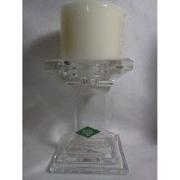 Amazon.com - SHANNON CRYSTAL CANDLE HOLDER PILLAR W/ CANDLE