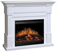 Amazon.com: Dimplex Essex Electric Fireplace in White ...