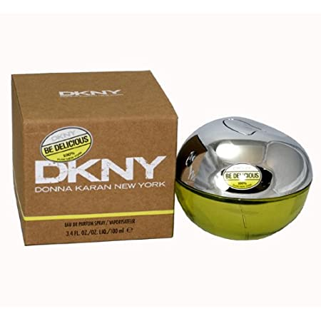 DKNY Be Delicious is a modern feast for the senses! Comes in a sleek metal and glass apple bottle.