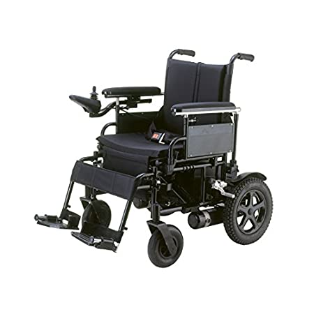 Foldable, lightweight frame makes portability and transportation easy and convenient. Integrated, programmable PG controller. Adjustable height flip back arms and detachable arms.  Attractive carbon steel frame with silver vein finish. Flat free, 12....