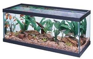 Amazon.com : All Glass Aquarium Co. 20 Gallon Long Tank Black 30 X 12