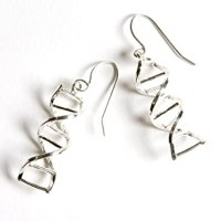 Amazon.com: DNA Double Helix Earrings: Jewelry