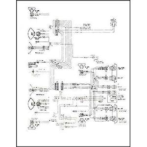 1971 chevelle el camino wiring diagram