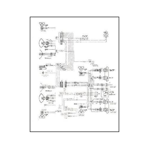 1968 pontiac firebird wiring diagram reprint