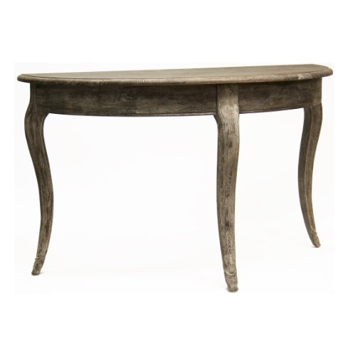 Image of Maison French Country Demi Lune Console Table (T030 E271)