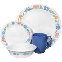 Cheap Corelle Livingware 16-Piece Dinnerware Set, Service ...