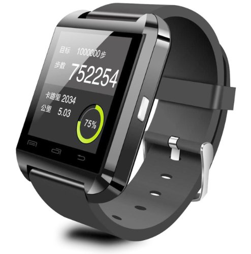 "U Watch U8 - Smartwatch (pantalla 1.48"", 64 MB, 128..."