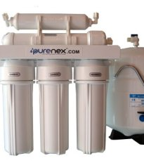 Purenex RO-5-50 5 Stage Reverse Osmosis Water Filter System with Storage Tank Removes Fluoride
