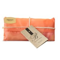 Fertility Chakra Pillow - Orange Yoga Silk Eye Pillow ...