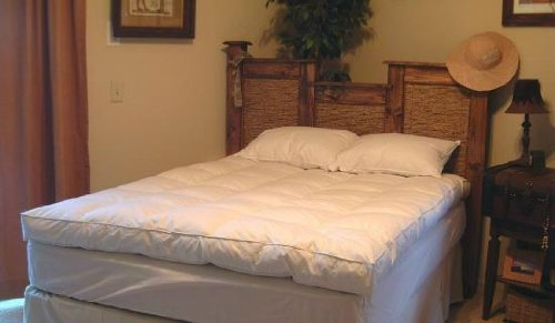 Willow Highlands Queen Size Down Mattress Feather Bed