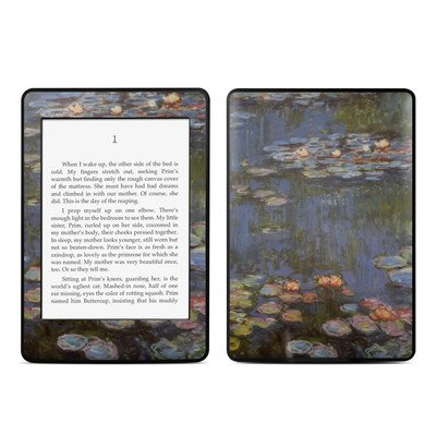 Amazon Kindle Paperwhite スキンシール【Monet - Water lilies】