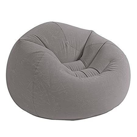 Intex completes the Beanless Bag Chair line with the introduction of a warm, neutral color combined with our revolutionary new corduroy texture flocking! It's elegant and luxurious look and feel will add a new dimension to any room!