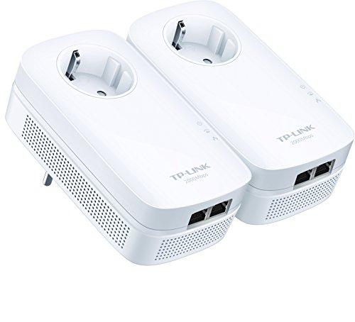 TP-Link TL-PA9020P KIT AV2 2000 con Presa Passante Tecnologia HomePlug AV2 MIMO