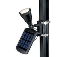 Patriot Lighting Solar Powered Flagpole Flag Light Super ...