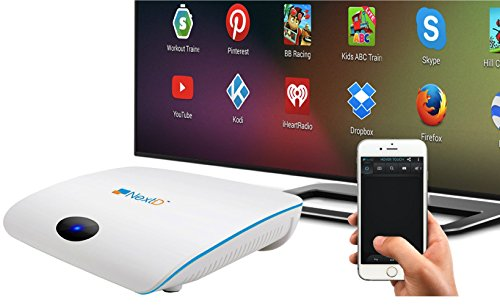 NextD N1 TV 1 Million Plus Apps and Games on TV, Only Smart TV Player with Multi-Touch and Motion Control Via Smartphone Remote App, Enabling 100X More Apps Than Any Other Platforms