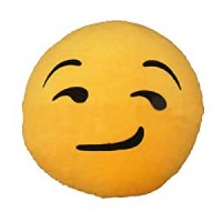 Amazon.com : iPhone Emoji Pillow - Smirk | FREE FAST ...