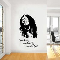 Amazon.com - Bob Marley Wall Art, Iconic, Classic, Reggae ...