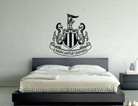 Newcastle United Football Club Badge Emblem Vinyl Wall Art ...