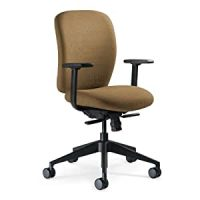 Amazon.com: Steelcase Jack Fabric Chair, Camel: Kitchen ...