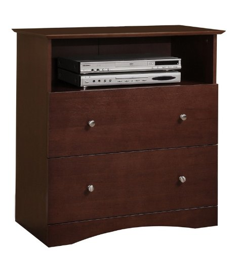 Image of Walker Edison AWECWB Entertainment Center TV Stand (AWECWB)