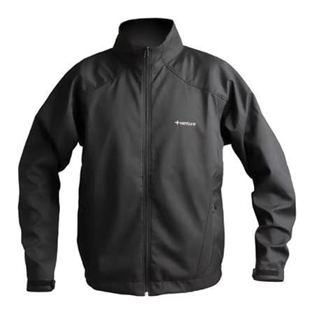 Gender: Womens Primary Color: Black Size: Md Apparel Material: Textile Distinct Name: Black  Despite its lightweight design, the Venture Exclusive Soft Shell jacket is built for versatility. Wear it when you go snowmobiling, motorcycling, skiing, sno...