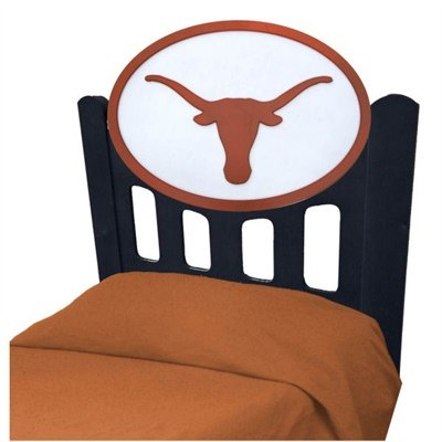 Image of University of Texas Longhorns Kids Wooden Twin Headboard With Logo (B002M06122)