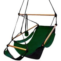 Amazon.com : Deluxe Hammock Chair - Forest Green : Sky ...
