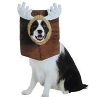 Amazon.com : Mounted Moose Head Dog Costume Pet Small ...