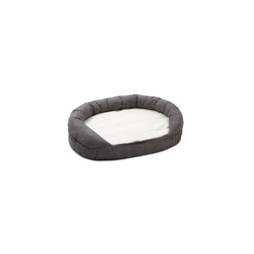 Hundebett Amazon Hundebett Ortho Bed Oval Grau 118 X 72 X 24 Cm Haustier On Popscreen