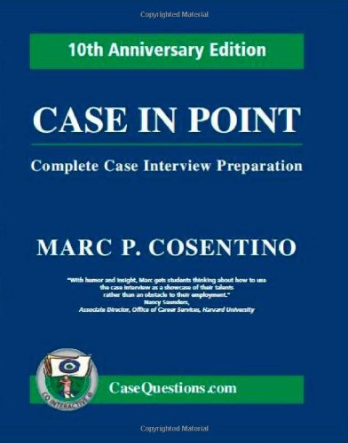Case Interview Books (most read) - Management Consulting Prep